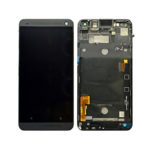 HTC One M8 LCD with frame black