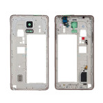 for-Samsung-Galaxy-Note-4-Original-Midframe-Assembly-Middle-Housing-Replacement-Part-Gold-Free-Shipping-Tracking
