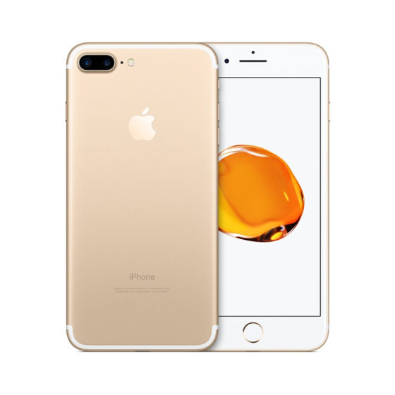 iphone 7+ gold