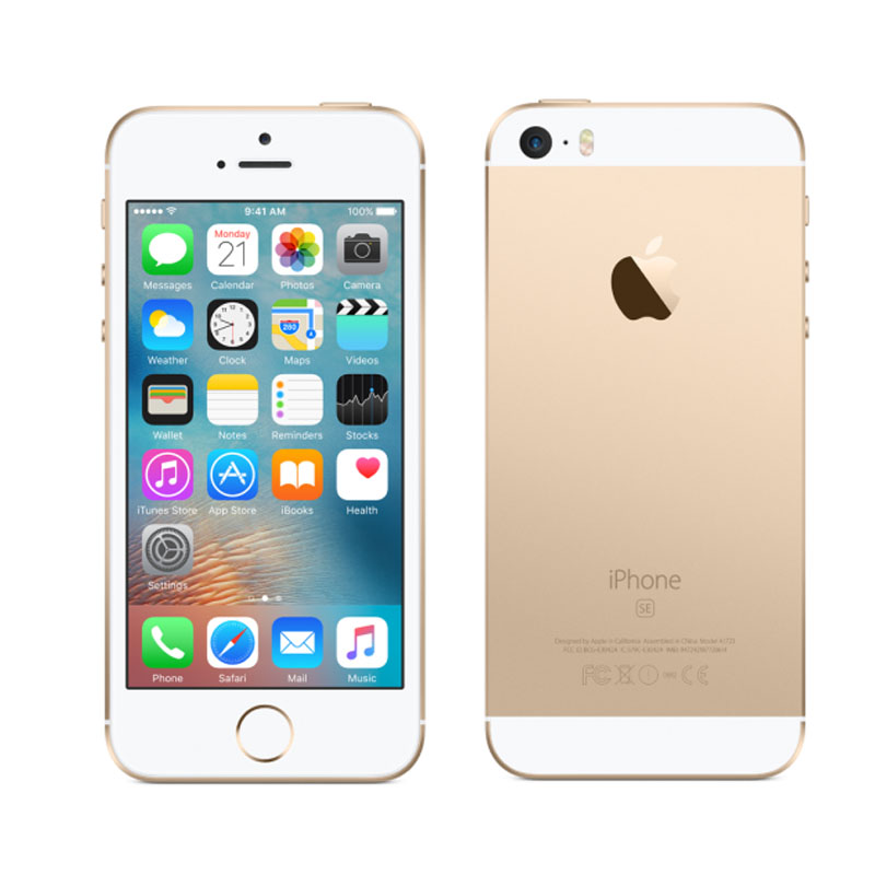 apple iphone se 16gb reconditionn grade a bo te compl te or dialog hub. Black Bedroom Furniture Sets. Home Design Ideas