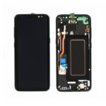 Samsung G950F Galaxy S8 Lcd black with frame