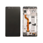 huawei P9 LCD with frame black