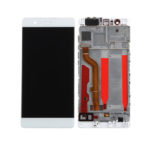 huawei P9 LCD with frame white