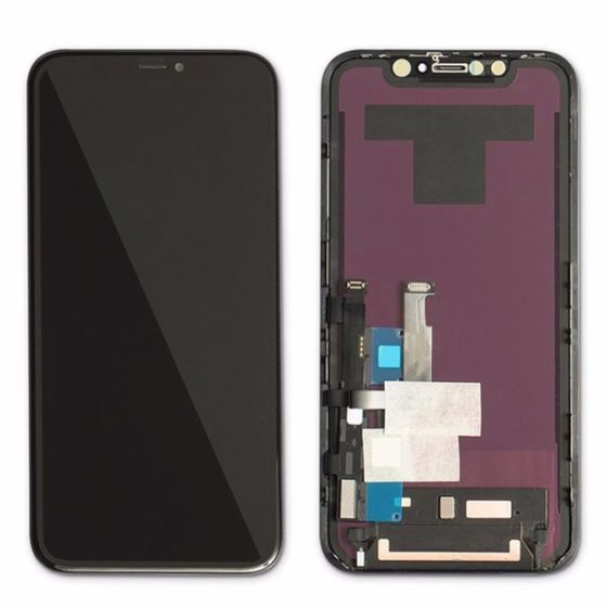 Ecran iphone 11 noir compatible